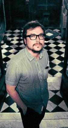 El cineasta mallorquín Joan Carles Martorell, en el centro de Barcelona.