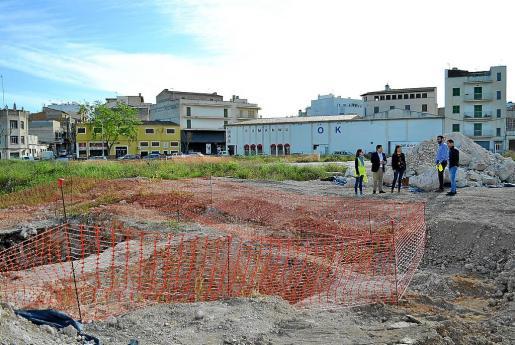 Los terrenos de Majorica están en la última fase de descontaminación por parte de la empresa Adalmo.