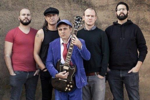 The Billy Young Band ofrece un tributo a AC/DC en La Movida.