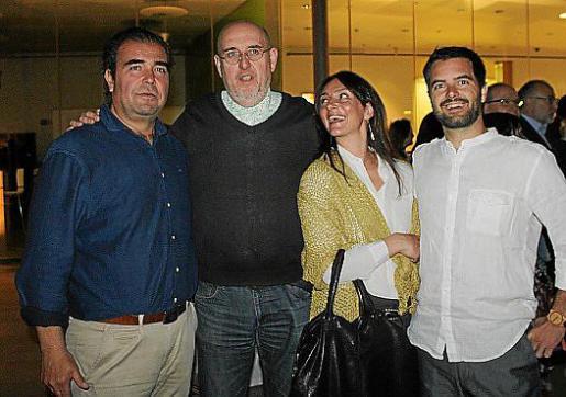 Fernando Robledo, Fernando Castro, Sandra Torres y Diego Marcos.