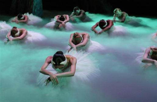 El Ballet de Moscú baila 'El lago de los cisnes' en el Auditórium de Palma.