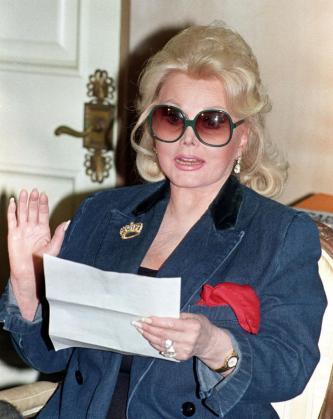 La actriz Zsa Zsa Gabor, en una imagen de archivo.