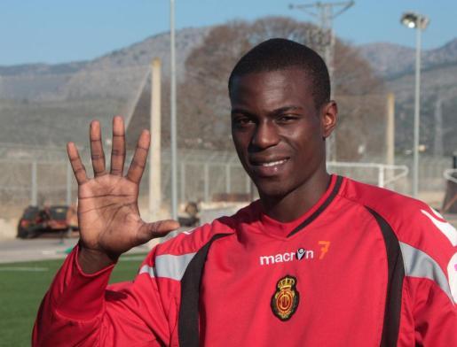 El jugador francés del Mallorca, Michael Pereira.