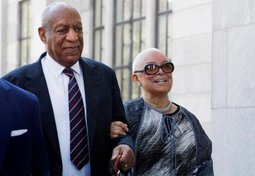 Bill Cosby con su mujer Camille.