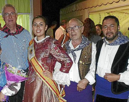 José Manuel del Pozo, Magda Muñoz, Nicolás Zandundo y Daniel Luzón.