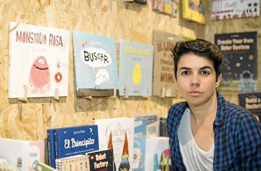 La autora e ilustradora infantil Olga de Dios.