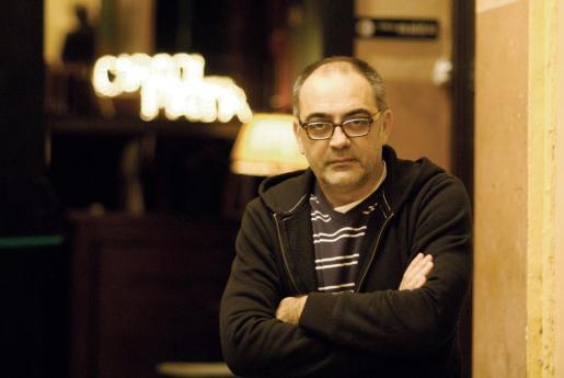 Pep Tosar, director teatral en Barcelona.