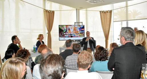Ángel Puig, CEO de Nautic Advisor, presentó el proyecto Connect'Up a los socios de Mallorca StartUps.