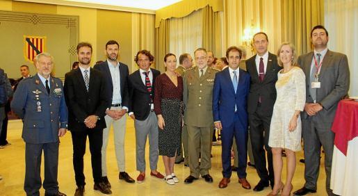 Manuel Fernández-Roca, Pablo Martín, Josep Claverol, Francisco Hernández, María Alarcos, Juan Pinilla, Pau Collado, Dalibor Ciak, Rosa Torrens y Ettore Neglia.