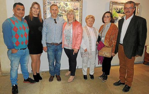 Ubeimar Londoño, Carolina Campins, José Martínez, Cati Gelabert Niell, Concha Camarena, Sheila Schmith y Teodoro Pou.