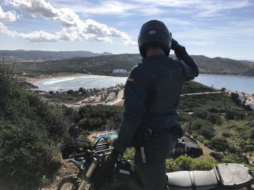 Imagen que acompañaba el mensaje de la Guardia Civil sobre Menorca.