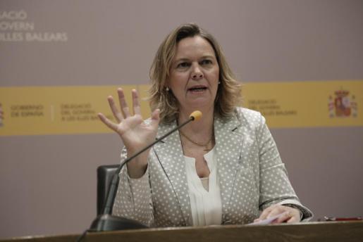 Maria Salom, la delegada del Gobierno en Baleares.