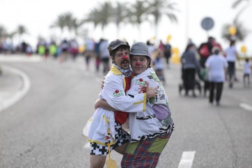 La Sonrisa Médica, que lleva la alegría a los niños hospitalizados, es una de la entidades que recibirán ayuda con la carrera Mallorca RUHning.