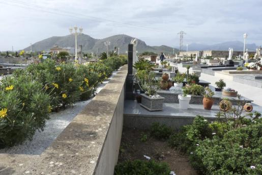Vista del cementerio de Alcúdia.