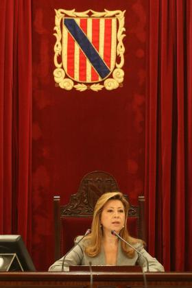 Maria Antònia Munar ha anunciado su dimisión y retiro de la vida política.