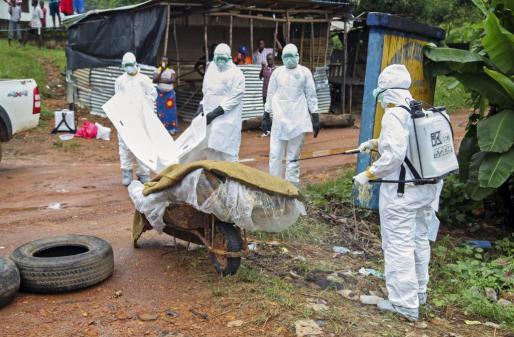 La OMS ha puesto en alerta a nueve países fronterizos de RDC.