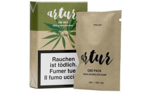 Imagen de los productos con marihuana que ofrece Lidl.