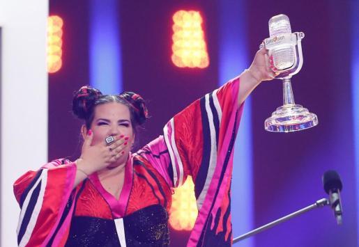 Netta tras ganar Eurovisión.
