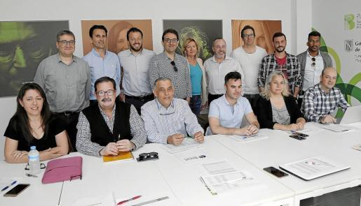 Cèsar Llorente (IDI), Rafael Soler (Fundació BIT), Eduardo Tejada (PalmaActiva), Marcos Cañabate (PIMEM), Xesca Vidal y Ángel Puig (Connect'Up), Lluís Arague, Ignaci Bosch y Álex Estupiñán (IFOC), Ana Seijo (Wohaby), Bernardí Seguí y Ricardo Moreno (SECOT), Miguel Ángel López (IDI), Susana Rodríguez (IDI) y Manuel Guerrero (Fundació BIT).