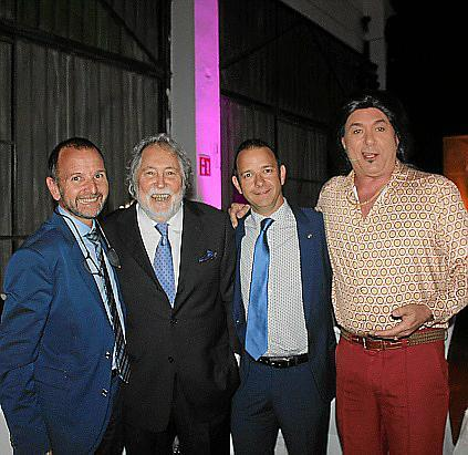 Damià Sbert, Juan Carlos Rosselló, Tòfol Sbert y Agustín Martínez 'El Casta'.