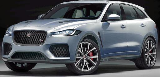 El Jaguar F-Pace incorporará el acabado SVR en su gama, lo que lo convierte en la versión más rápida y potente de su corta historia, con un chasis y una aerodinámica mejorados para satisfacer aún más, una conducción superior, en qualquier situación