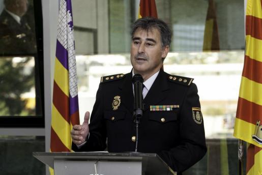 Imagen de archivo de Manuel Hernández durante su toma de posesión.
