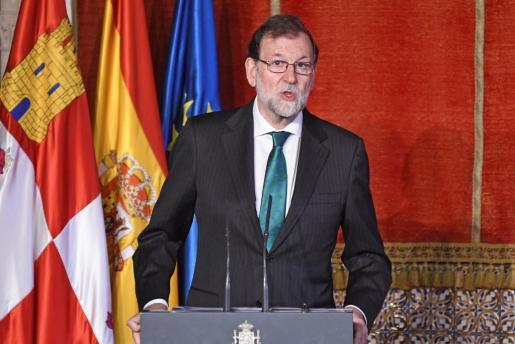 El jefe del ejecutivo Mariano Rajoy.