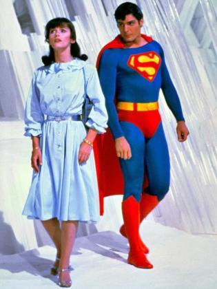 Imagen de la Lois Lane y Superman durante una de las entregas de la saga.