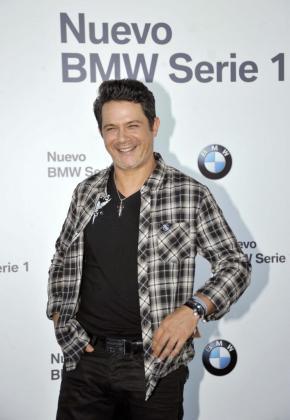 El cantante y compositor Alejandro Sanz a su llegada al Madrid Arena de la capital donde ofrecióun concierto en septiembre.