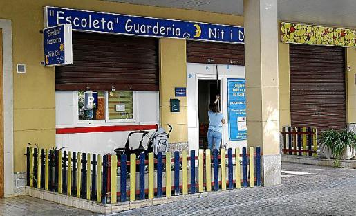 La escoleta Nit i Dia, situada en la zona del Conservatorio.