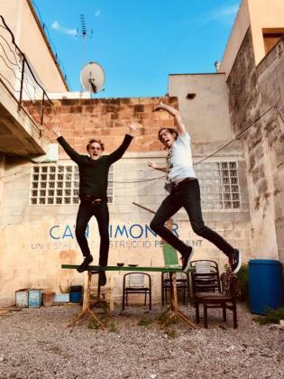 Marc Caellas y Esteban Feune recalan en Mallorca por primera vez.