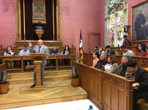 Intervención de Miquel Ensenyat en el Debate de Política General del Consell de Mallorca.