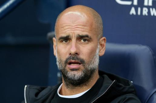El entrenador Pep Guardiola.