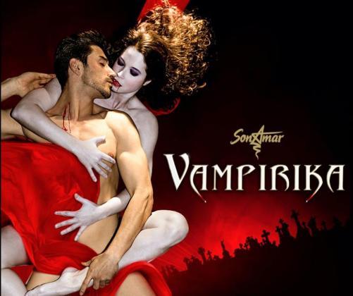 'Vampirika' es un espectáculo elegante y sexy.
