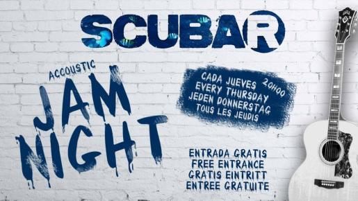 Los jueves el Scubar organiza su Accoustic Jam Night.
