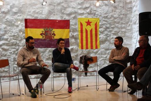 Valtonyc, en un reciente acto republicano en Alaró.