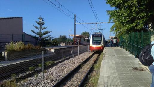 Últimamente se repiten constantemente los fallos eléctricos en el servicio ferroviario de Mallorca.