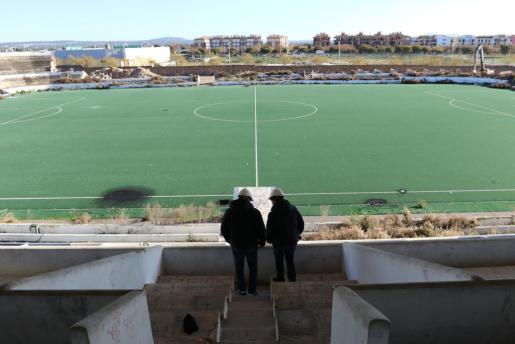 Problemas estructurales ralentizan la remodelación del Estadi Balear