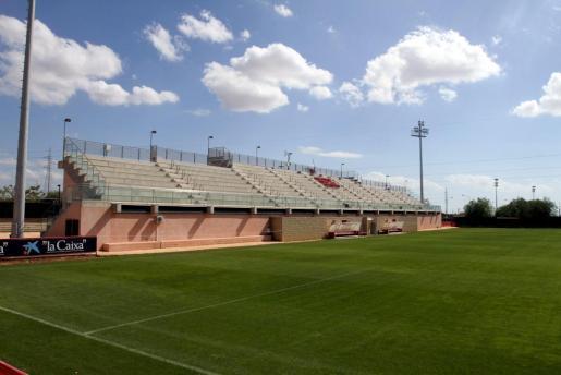 Imagen del campo Tomeu Serra, principal instalación deportiva de Son Bibiloni.