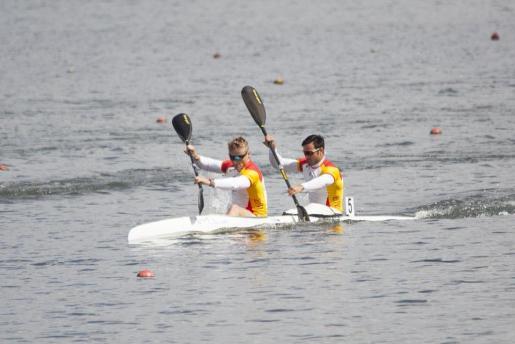 Marcus Cooper Walz y Rodrigo Germade, en plena competición.