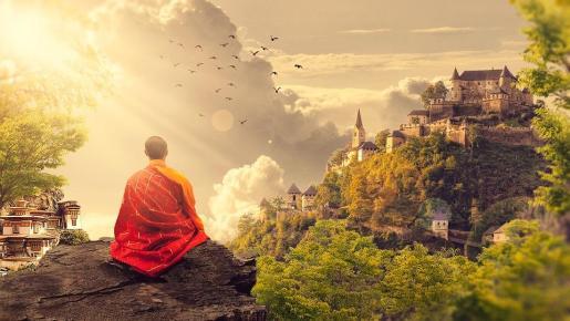 El monje debía llevar a cabo jornadas maratonianas por un nimio salario.