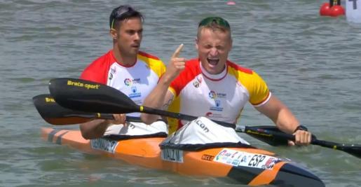 Rodrigo Germade y Marcus Cooper Walz han logrado la medalla de oro en la categoría K2 500.