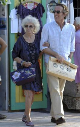Imagen de los recién casados el pasado verano en Eivissa.