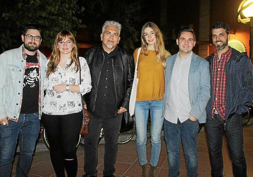 Javi Pueyo, Carme Quetglas, Toni Bestard, Laura Gost, Jaume Carrió y Rubén Pérez.