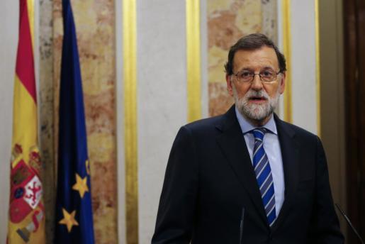 El presidente del Gobierno Mariano Rajoy.