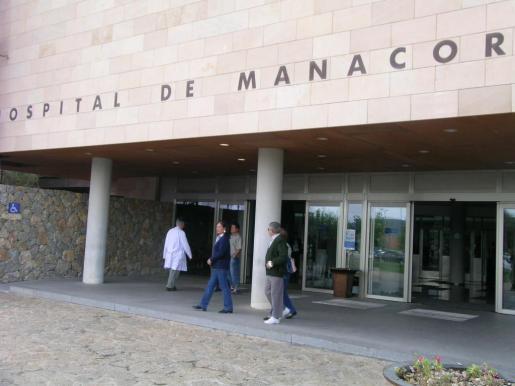 Fachada del Hospital Comarcal de Manacor.