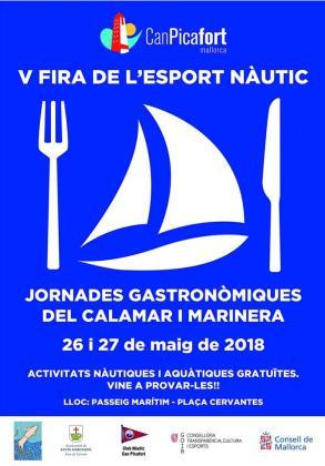 V Fira de l'Esport Nàutic i Jornades Gastronòmiques del Calamar i Marinera en Can Picafort.