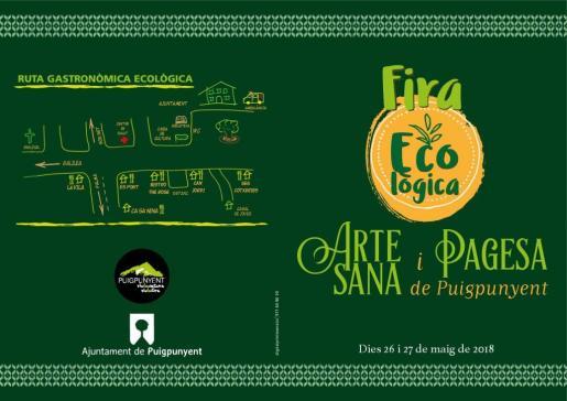 Feria ecológica y artesanal 2018 de Puigpunyent.