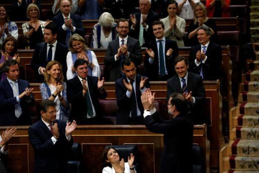 Segunda moción de censura contra el actual presidente del Gobierno, Mariano Rajoy, tras la liderada el año pasado por el secretario general de Podemos. m
