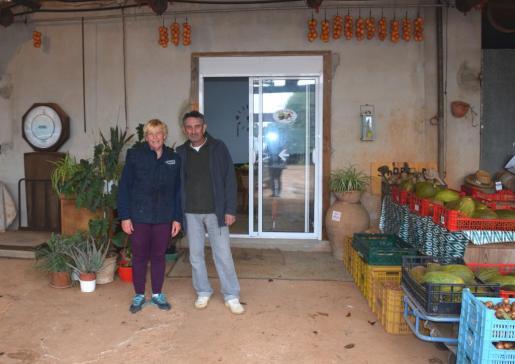 Sa Bisbal es una de las fincas agrículas que se visitarán. Situada en Pina, produce hortalizas y frutas.